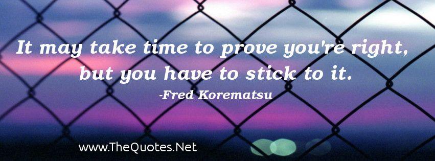 Fred Korematsu Quotes Amazing Facebook Cover Image Fred Korematsu Quotes It May Take Time To