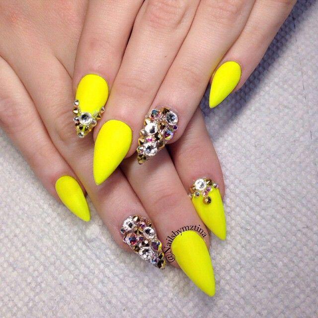 Nails by: Mz Tina   Funky nail designs, Pretty nails, Nail
