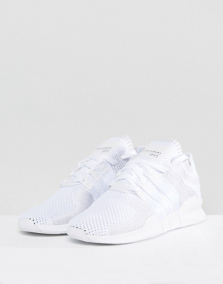 newest 5d49f 9907d adidas Originals EQT Support ADV Primeknit Sneakers In White ...