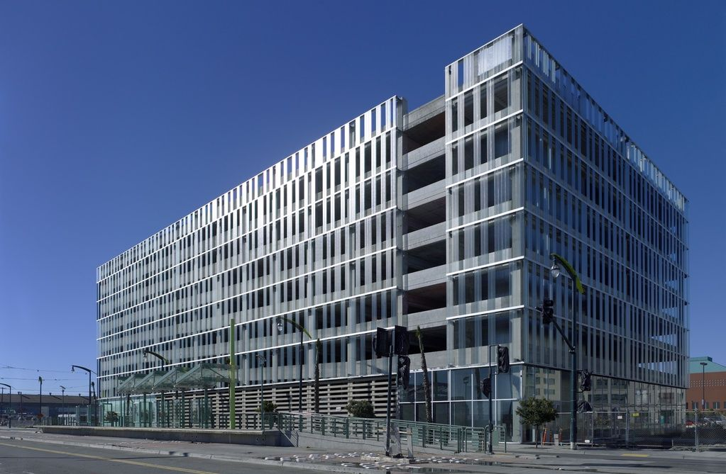 Uc san francisco parking structure california stanley for Build office in garage