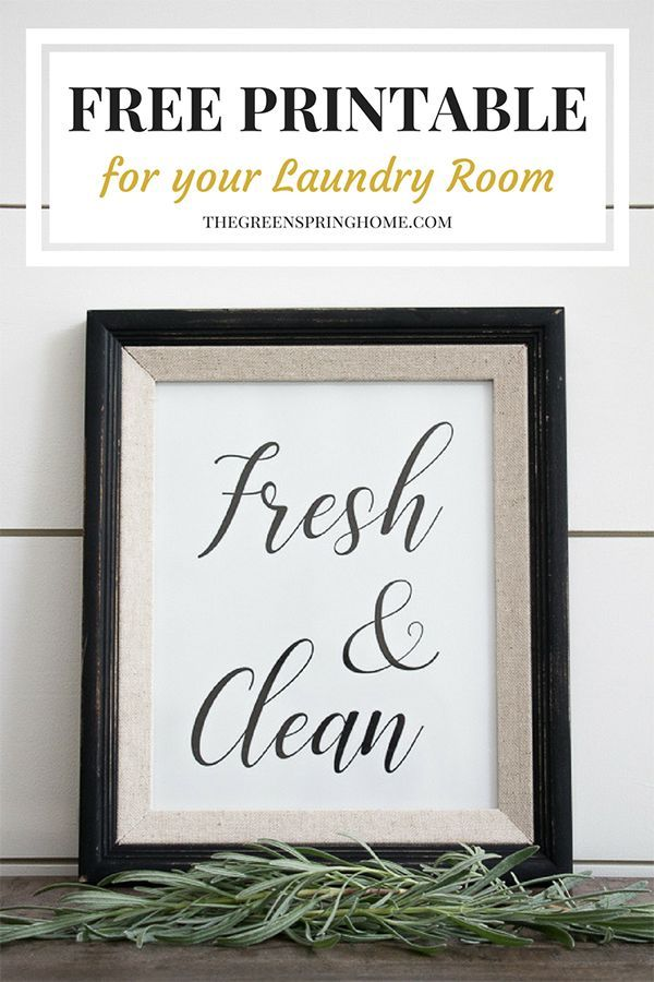 Free Printable Laundry Room Signs The Greenspring Home Laundry Room Signs Laundry Room Decor Signs Laundry Room Printables Free