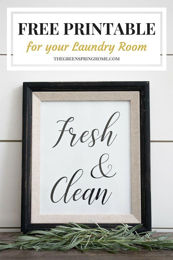 graphic regarding Free Printable Laundry Room Signs identified as Totally free Printable Laundry Area Symptoms No cost Printables