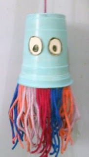Photo of Plastic Cup Jellyfish Craft