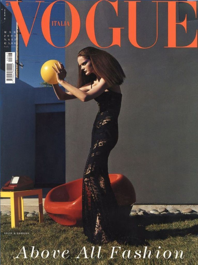 #lisacant by #stevenmeisel for #vogueitalia magazine March 2004 available at #magazinecult webstore