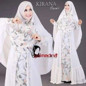 Gaun Pesta Muslim Model Gamis Kirana Syar I Syalmadina Yanzjo S