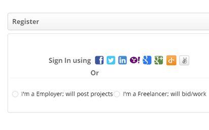Features Of Agriya Getlancer Dual Sign Up Freelancer Website
