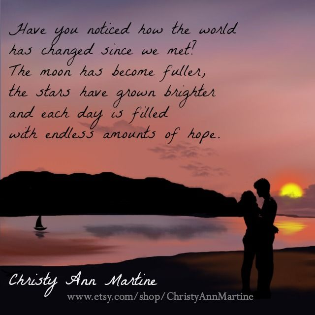 Love Quotes Poems Poetry Romantic Sayings By Christy Ann