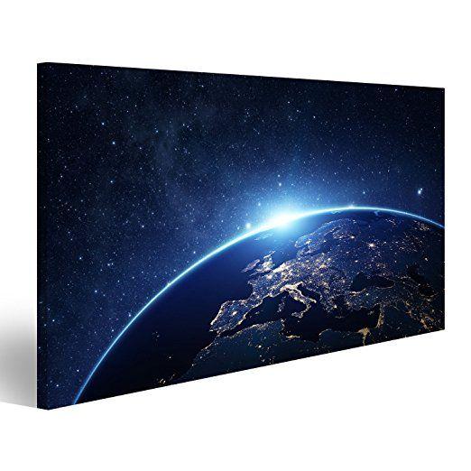 islandburner Bild Bilder auf Leinwand - Bilder Erde Weltall bilder