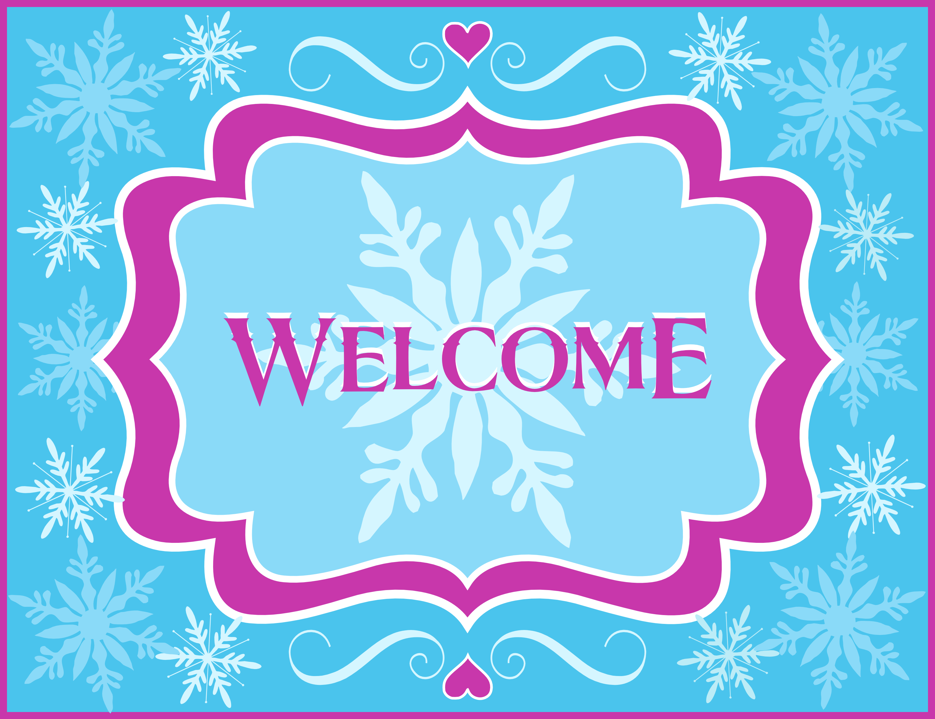 Free Frozen Party Printables from Printabelle   Party printables ...