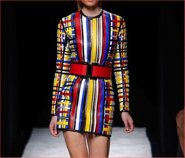 As Cores Primarias De Mondrian Estao Na Moda Ideias De Moda