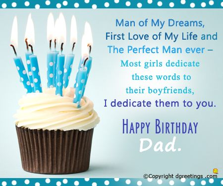birthday card for dad Google Search – Free Birthday Messages for Cards