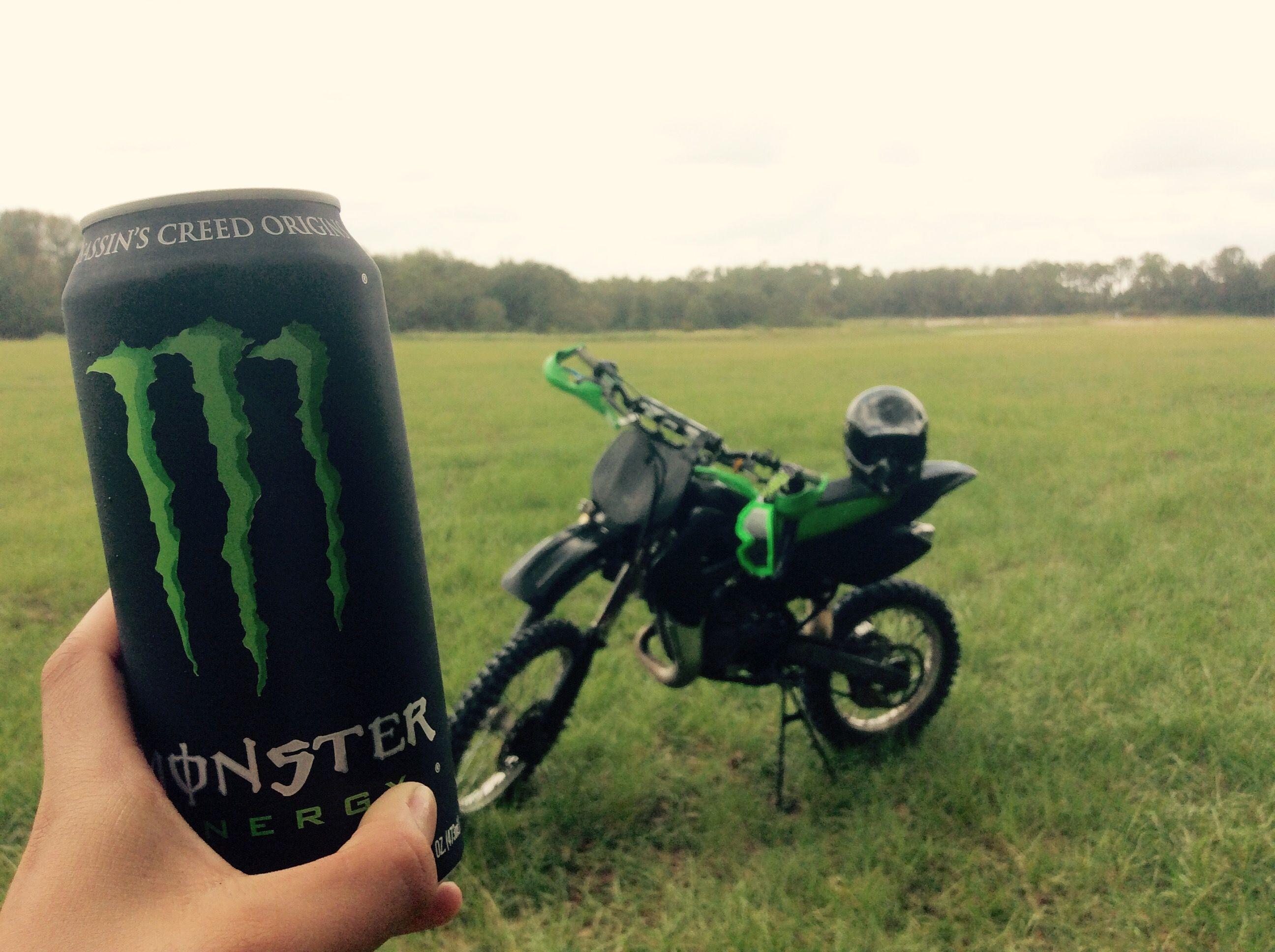 Monster Energy Drink W The Dirtbike Fantastico Dibujos
