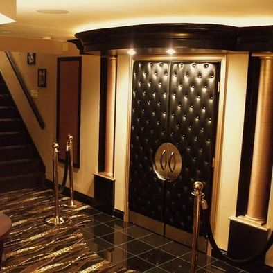 basement home theater design ideas awesome picture theatre and basements also rh pinterest