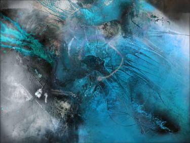 "Saatchi Art Artist Adriano Borges Ribeiro; Painting, ""Rhythmical Blue Zone"" #art"