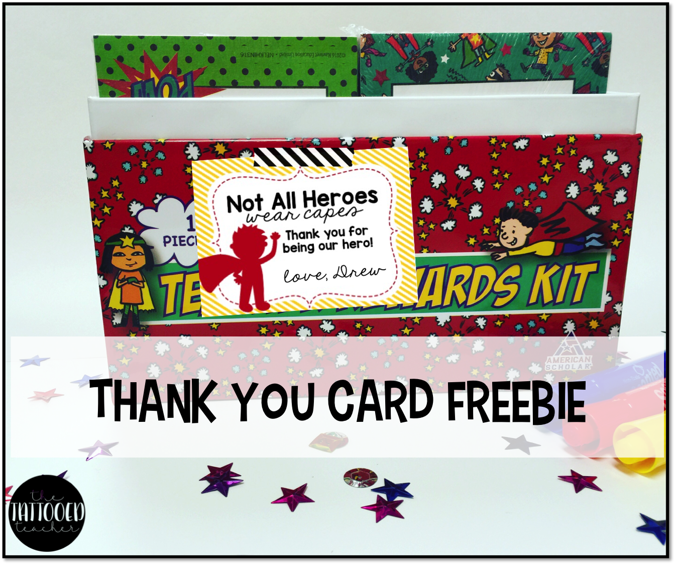 Teacher Reward Kits For Your Superheroes With Images