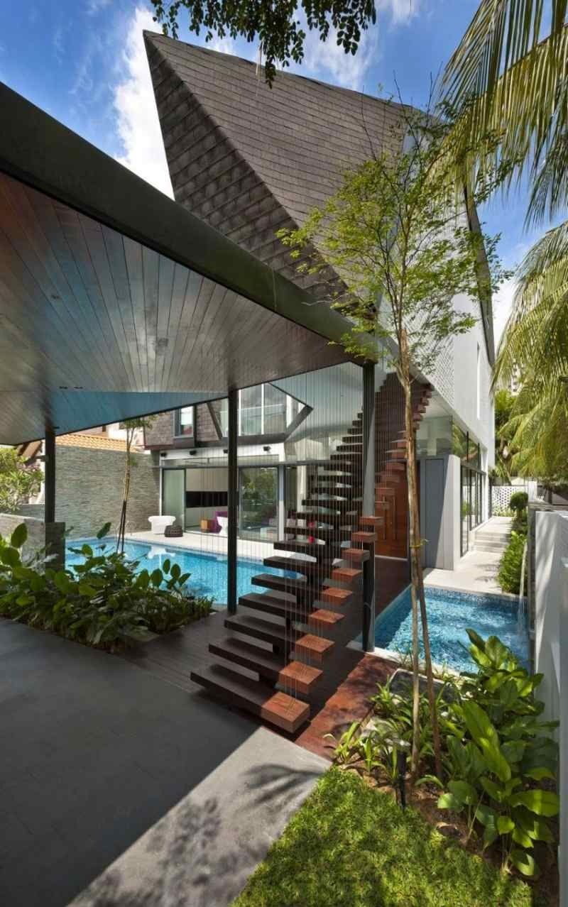 Escalier moderne – 115 modèles design tournants ou droits | Pinterest