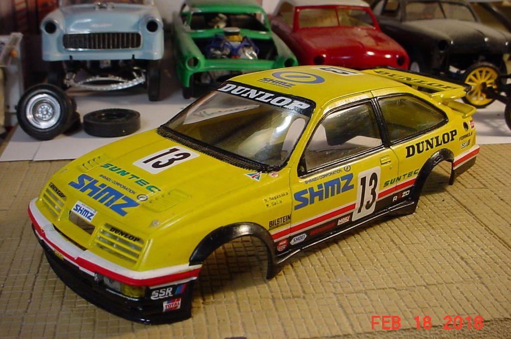 Tamiya Ford Sierra Xr4ti Shimz Nagasaka Sala 1 24 Body Only Parts