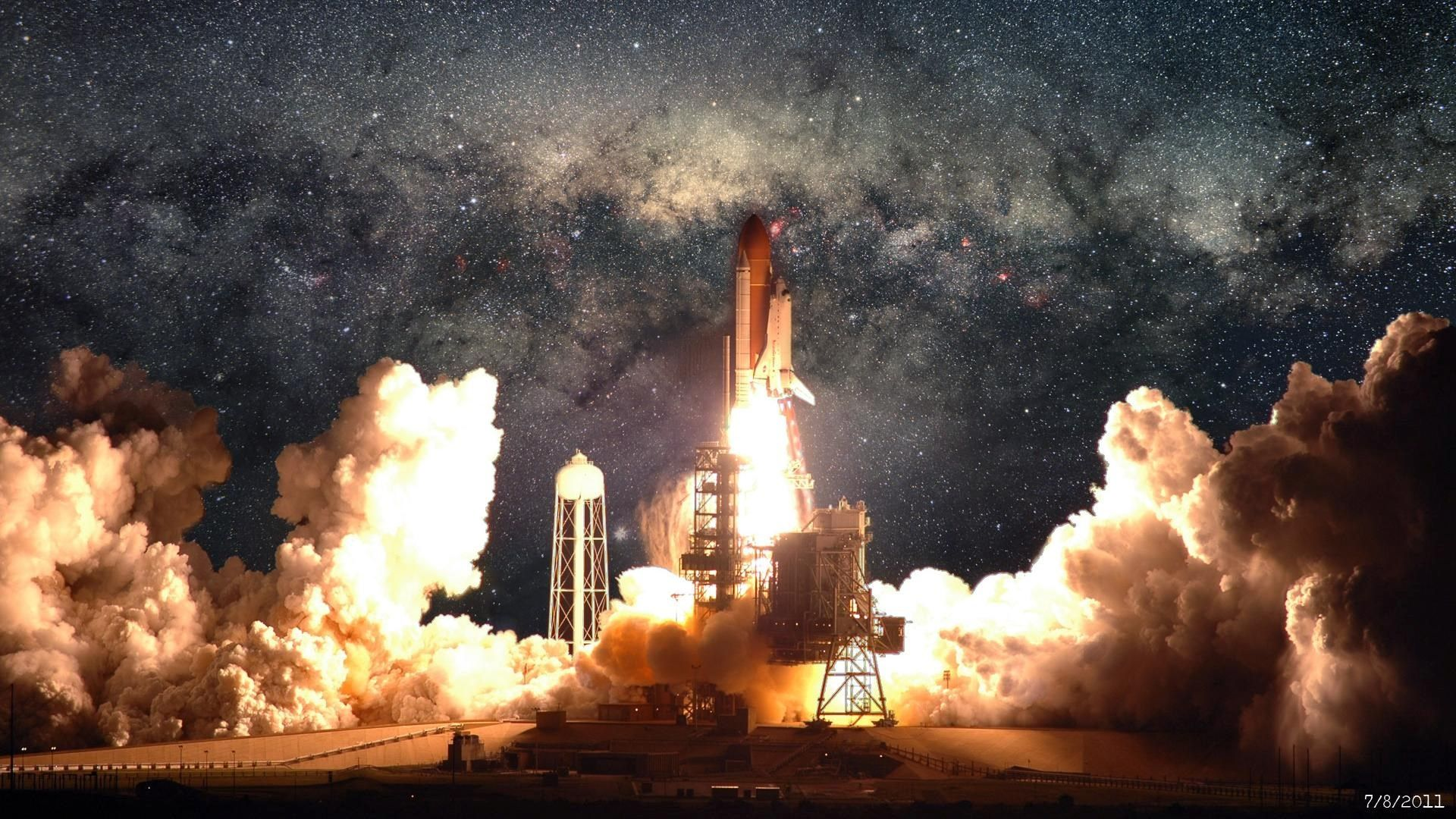 Space Shuttle Pic Free Hd Widescreen Ramsey Sinclair 1920x1080 Ciencias Fotos Astronomia