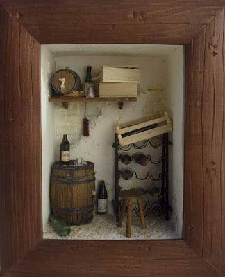 les vitrines de minimanie petites caves miniature. Black Bedroom Furniture Sets. Home Design Ideas