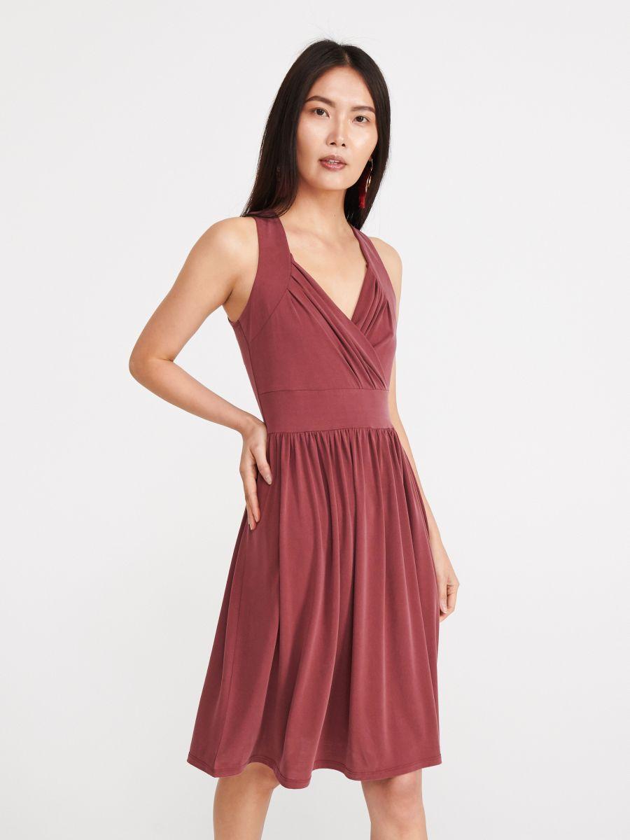 Dzianinowa Sukienka Z Modalem Reserved Xa867 34x Jersey Dress Dresses Modal