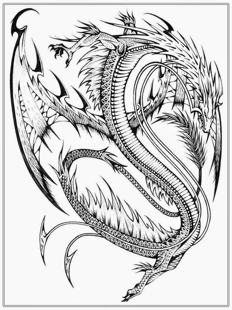 Chinese Dragon Coloring Pages Beautiful Realistic Dragon Coloring