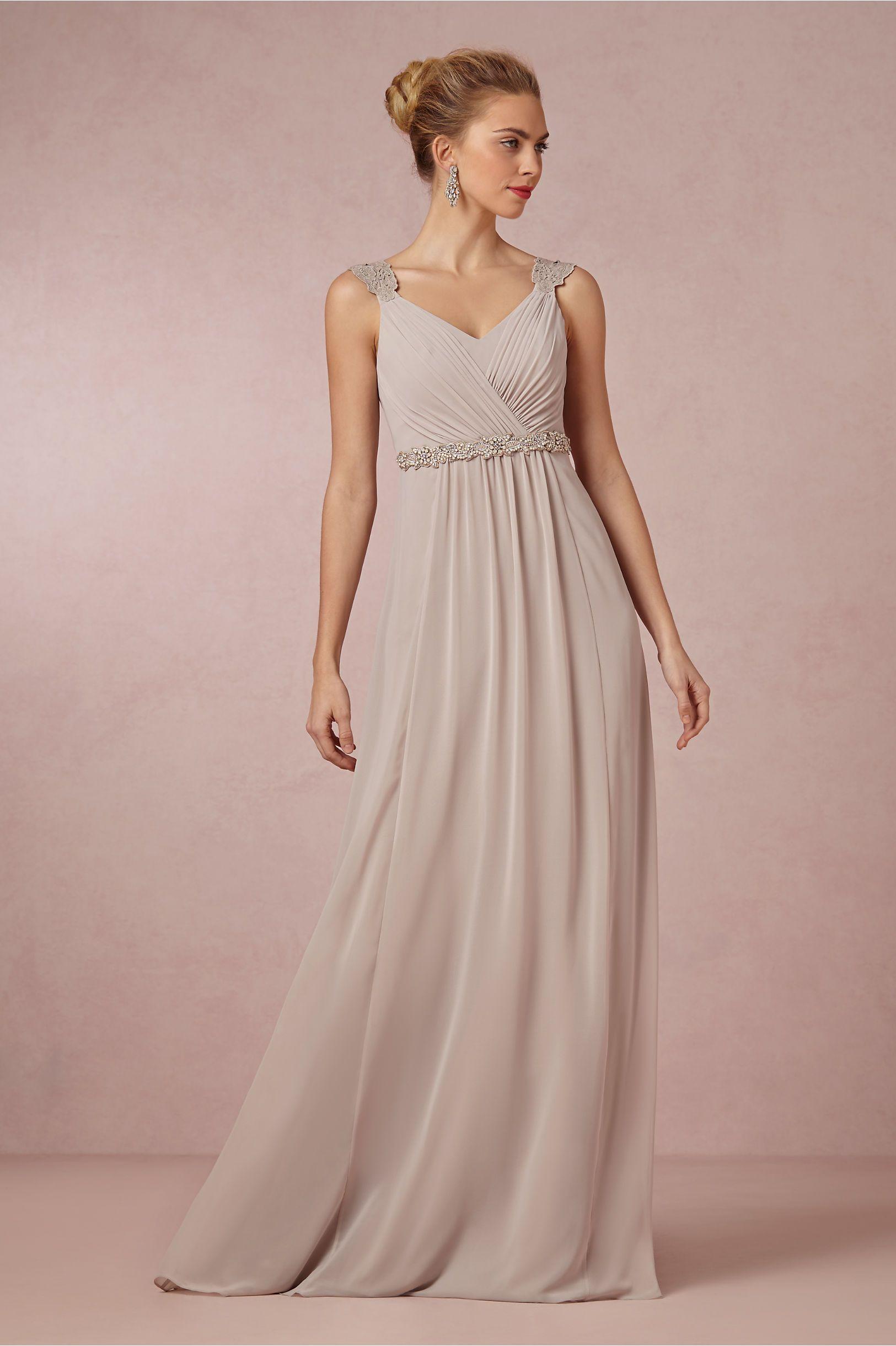 Freya maxi dress from bhldn the ultimate blush champagne for Beach wedding bridesmaid dresses pinterest