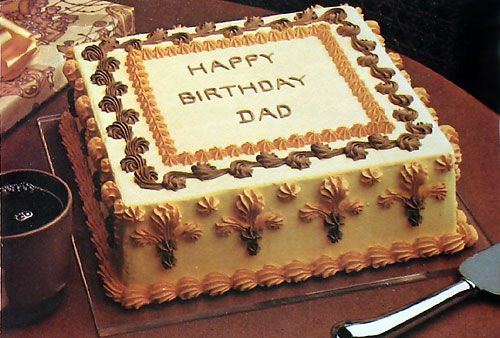 Birthday Cake Recipes For Dad