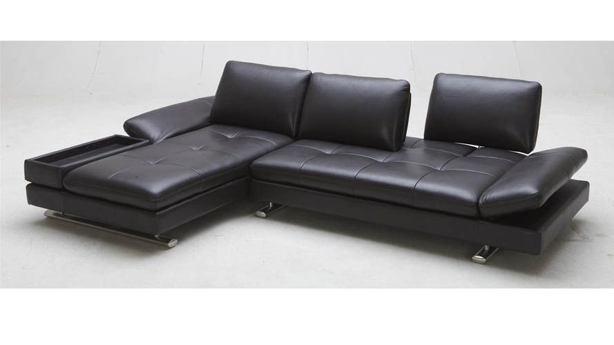 Shop Brown Ritz Leather Sectional Sofa And Other Modern And Contemporary  Home And Office Furniture. Browse Our Selection Of Sectionals From Zuri  Furniture.