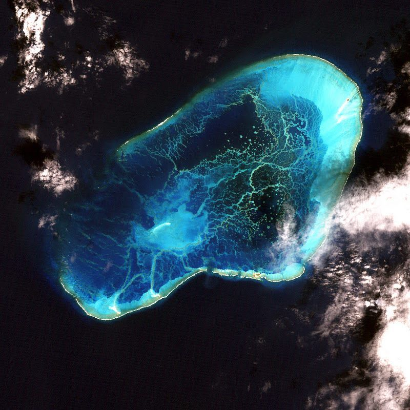 Hawaii's Pearl and Hermes Atoll http://www.nasa.gov/vision ...