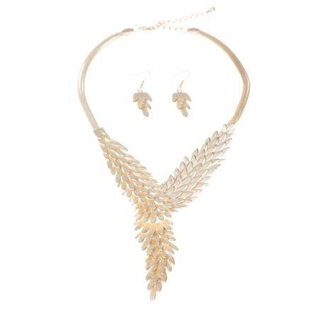 Lizzy Jewellery Set, Gold
