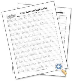 FREE Customizable Print and Cursive Handwriting Practice