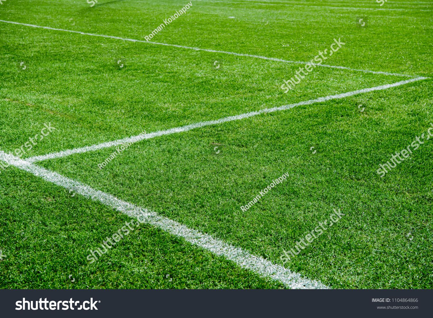White Lines On Green Grass Of A Soccer Field Selective Focus Ad Ad Green Grass White Lines With Images Icon Design Soccer Field Creative Icon