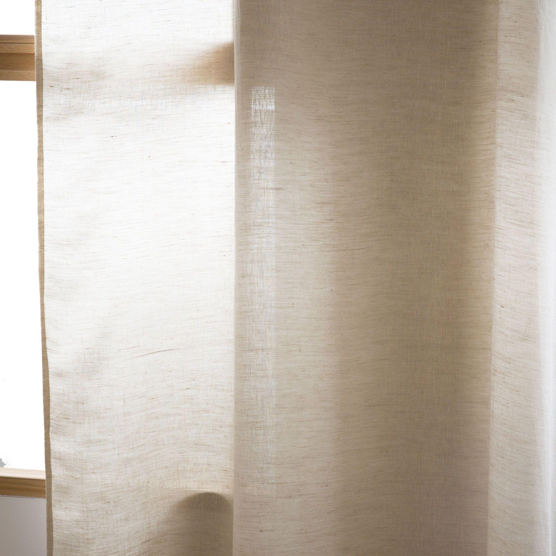 Basic Washed Linen Curtain Drapes Decoration Zara Home