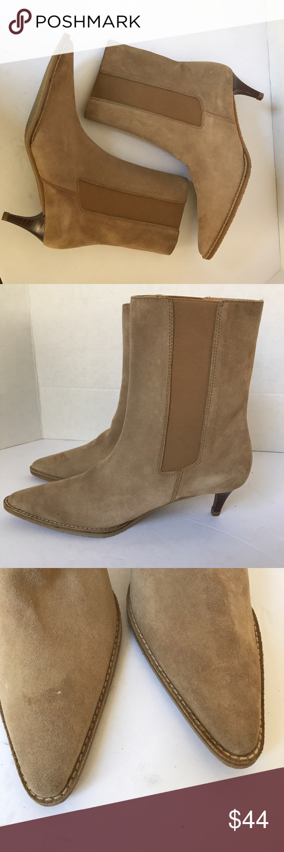 66aa698aef910 Banana republic Pointed Toe kitten heel boots sz 6 Banana republic Pointed  Toe kitten heel boots sz 6M crepe sole in new conditions/ feel free to ask  ...