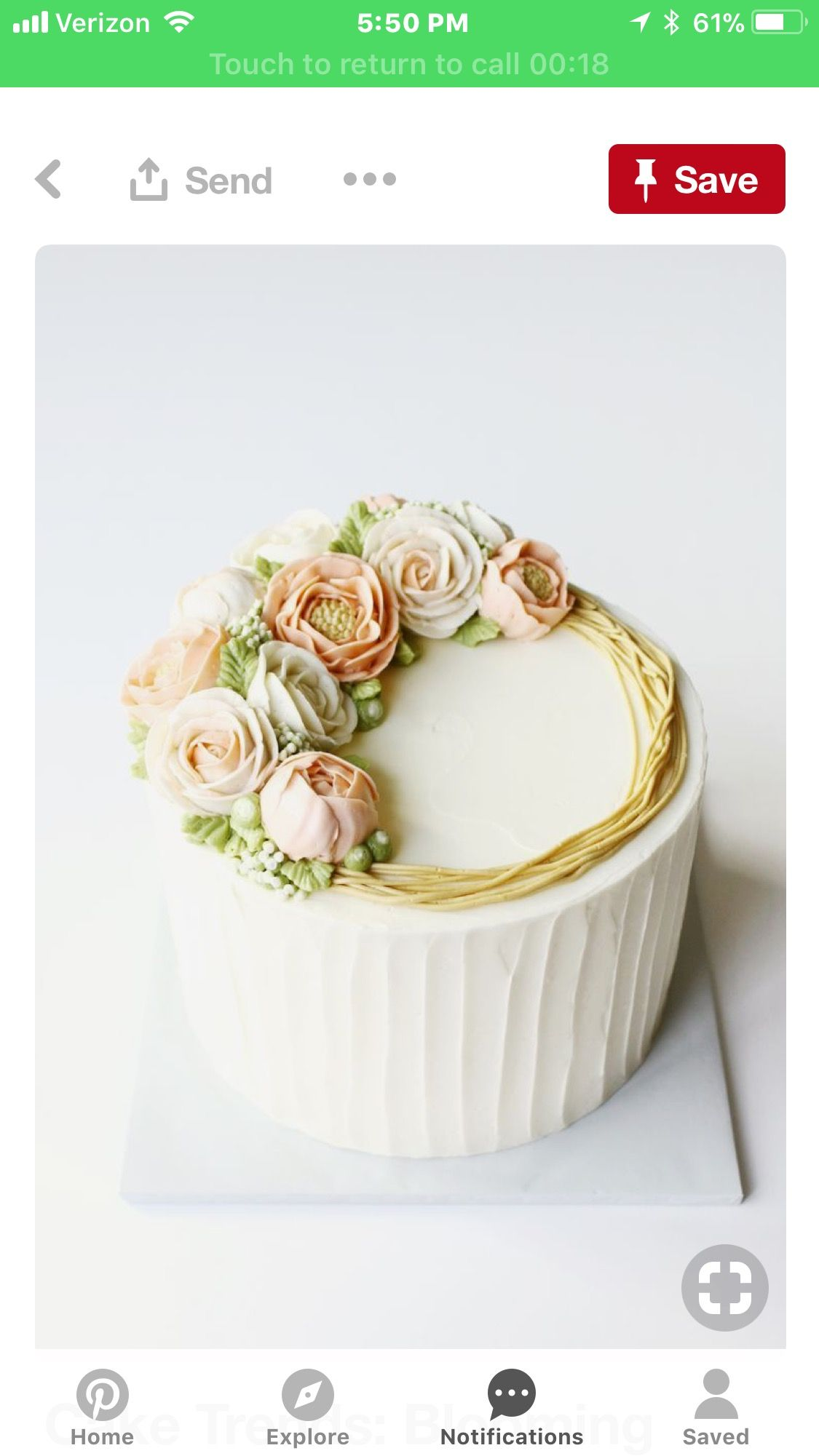 Pin by Moni Villa on Icing and Decor | Pinterest | Anna cake, Cake ...