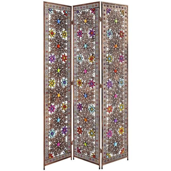 Pier One Beaded Screen ($230) ❤ liked on Polyvore My Moroccan