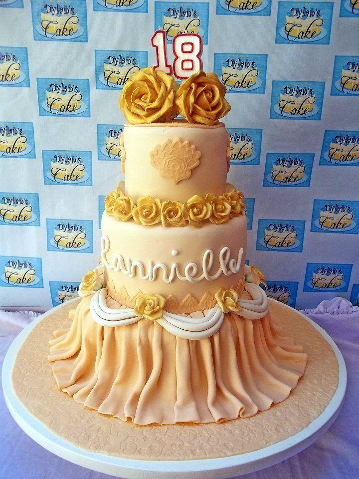 Wedding and Debutante Cake
