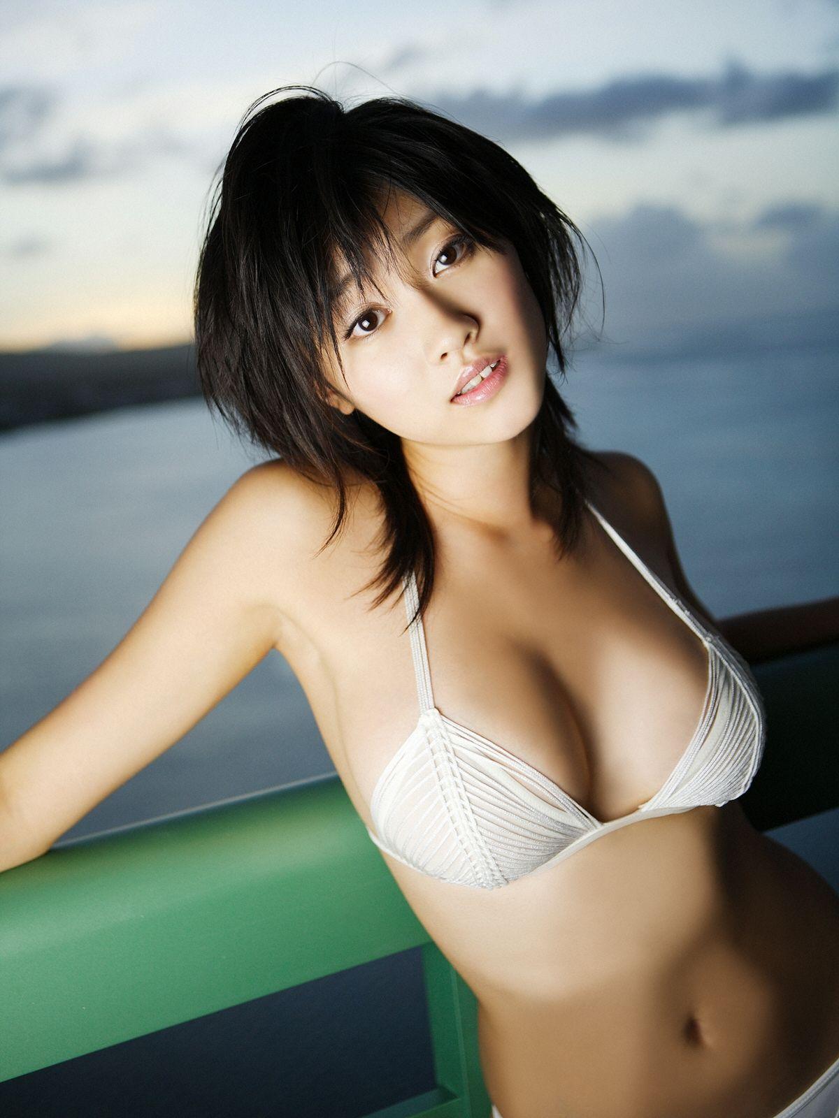 Asian girl showering