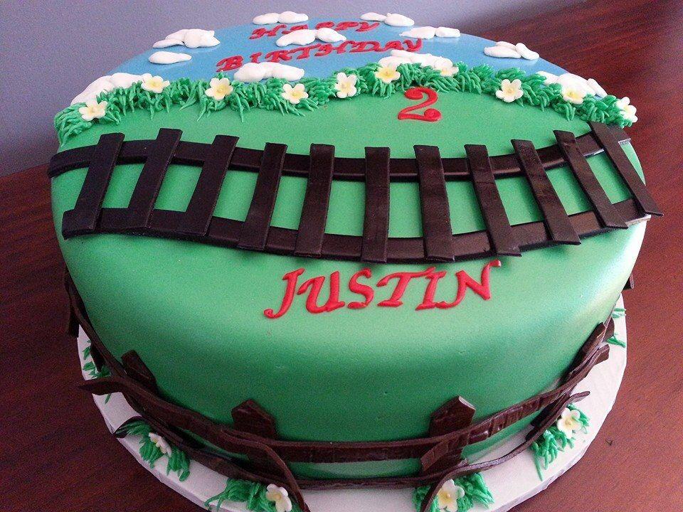 Thomas da Train birthday cake