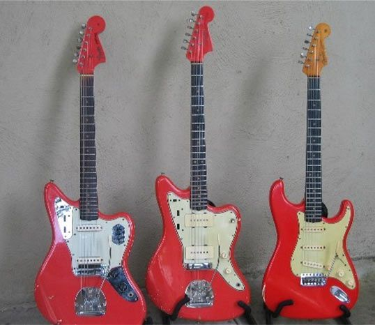 Fender Jaguar Sweetwater: Premier Collector #8: Vintage Strats And Custom Colors