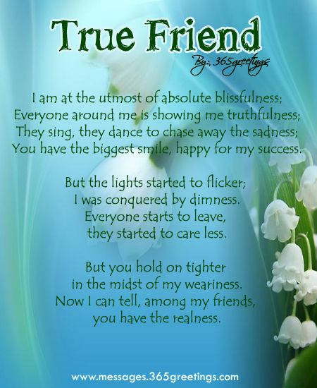 Friendship Poems | Friendship Poem | Ms Moem | Poems. Life. Etc ...