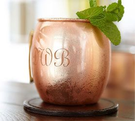 customized moscow mule copper mugs