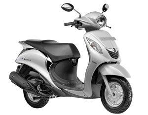 Yamaha Fascino Available Colors Haute White Yamaha Motor