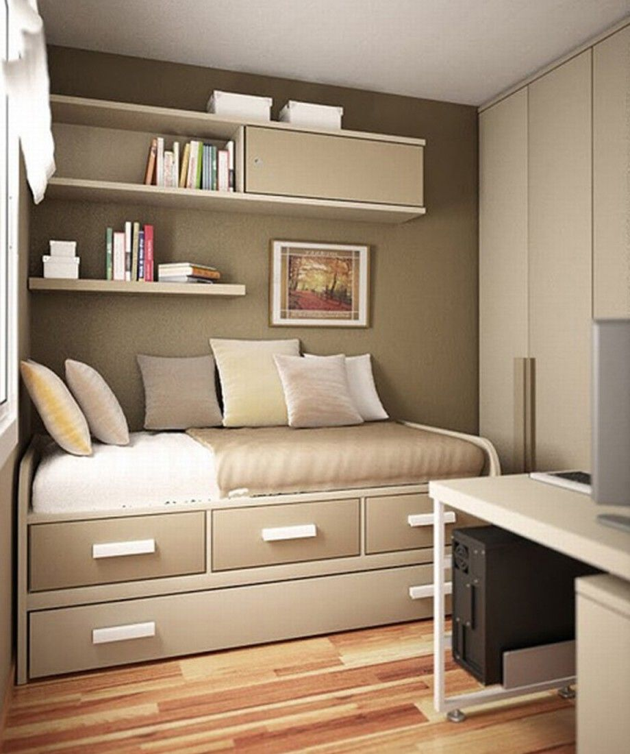 Small Master Bedroom Storage Perfect Storage Solution In Small Modern Bedroom With Nice Drawers