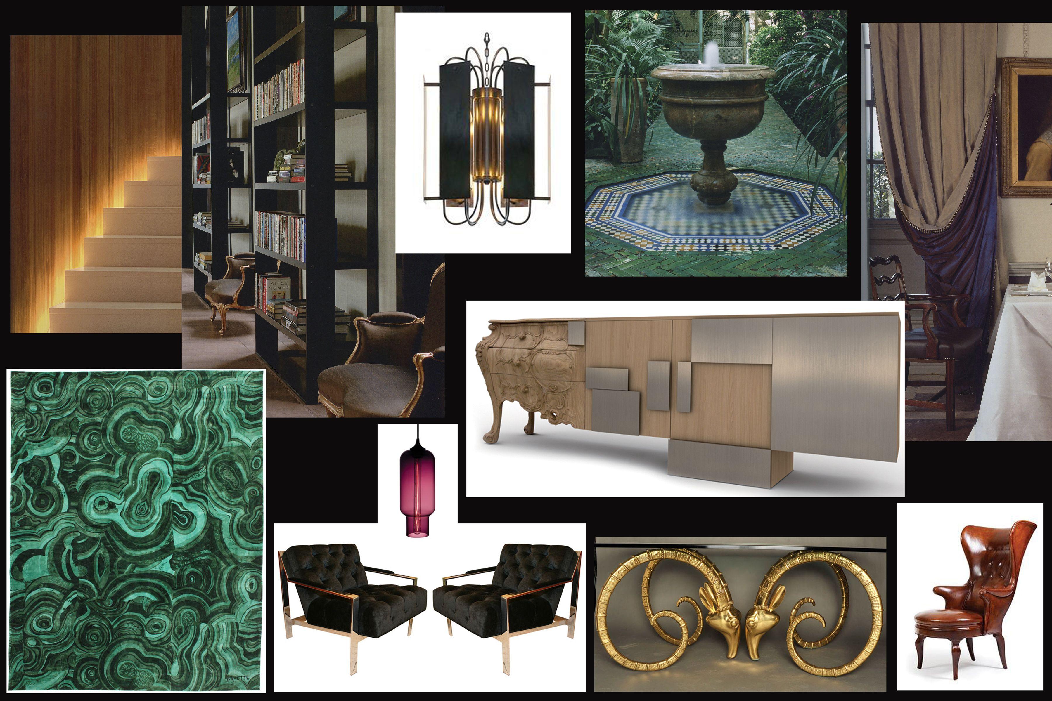 www.PrestonLeeDesign.com Hotel Lobby Concept by Preston Lee