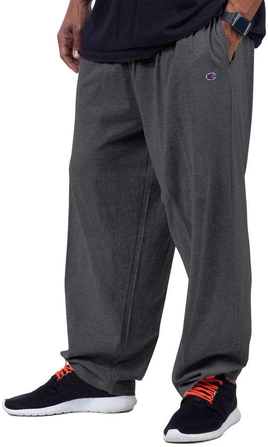 f043c456 Champion Big & Tall Solid Lounge Pants | Products | Mens workout ...