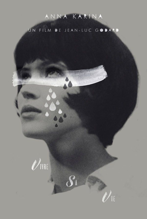 Vivre Sa Vie alternative movie poster | Etsy