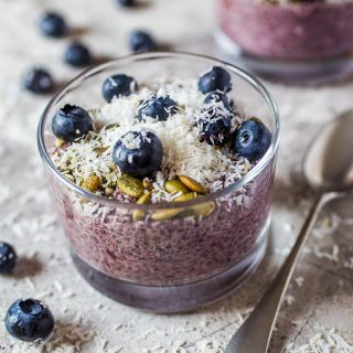 Mixed Berry Chia Seed Pudding #chiaseedpudding