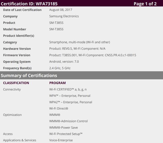 WFA Certified Samsung New Galaxy Tab E 8.0 (SM-T375) Models   Galaxy ...