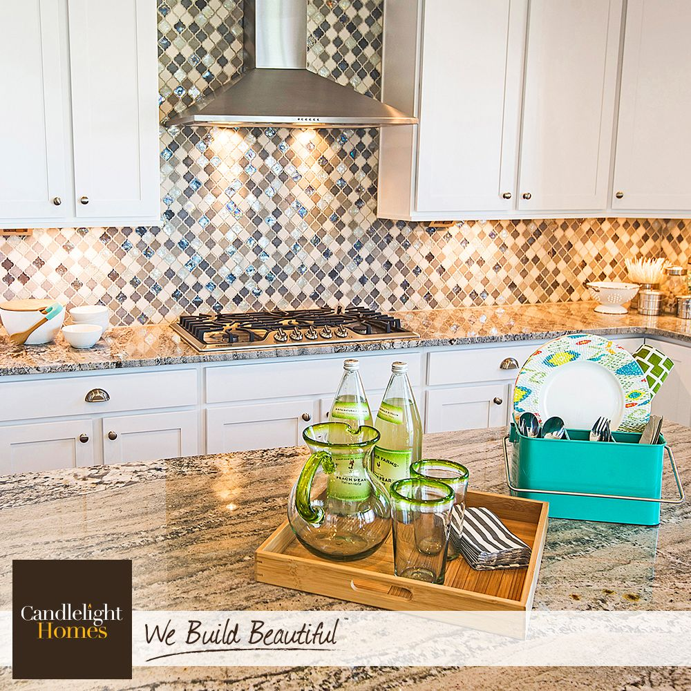 Salt Lake City Utah Houses: A Backsplash Doesn't Need To Blend Into The Background